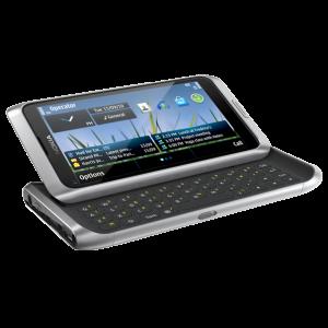 Nokia e7 slide function