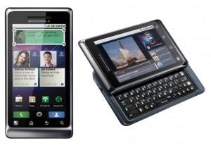 HTC Desire Z vs Motorola Milestone 2
