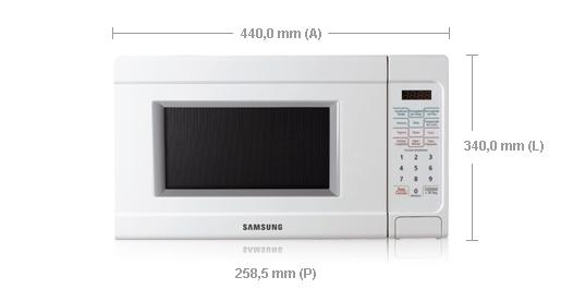 Samsung Microwave AMW73F-W