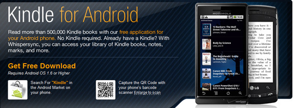 kindle for android application