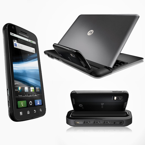 Motorola Atrix 4G HD dock and Laptop