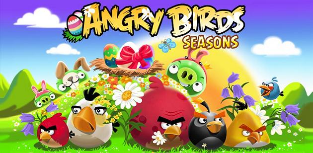 Angry Birds Seasons Easter Eggs available on Android Market