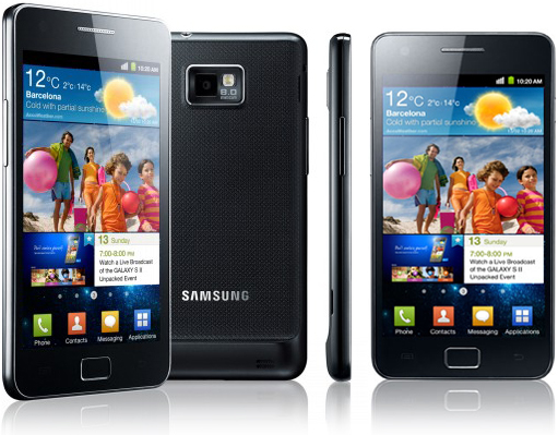 Samsung announces Galaxy S II to hit UK on May 1