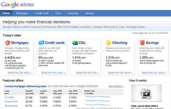 Allow Google to Manage Your Finances