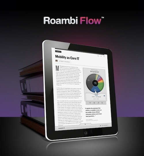 Create Interactive Business Documents for the iPad with Roambi Flow