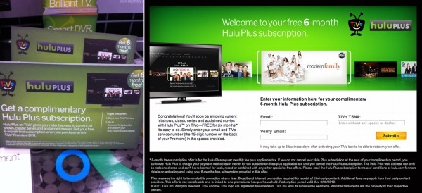 GadgetMania.com - Hulu Plus on TiVo May Launch Soon