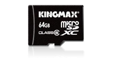 Kingmax Introduce the First 64GB microSD Card