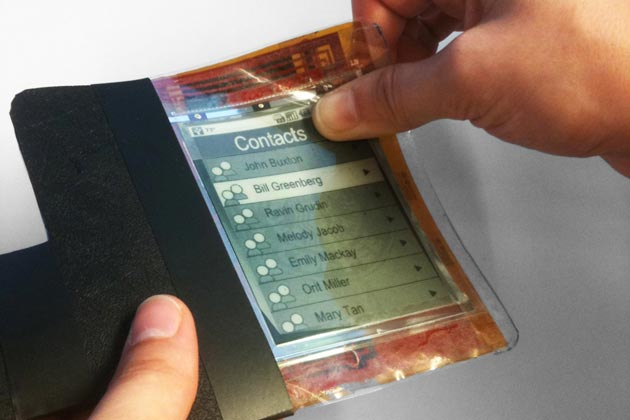 "New Ultra-Thin ""PaperPhone"" Invented"