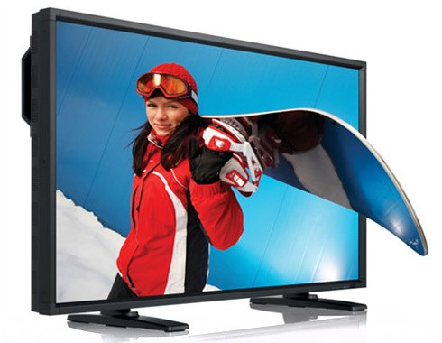 Nissho Unveils 52-inch 3D TV in Japan