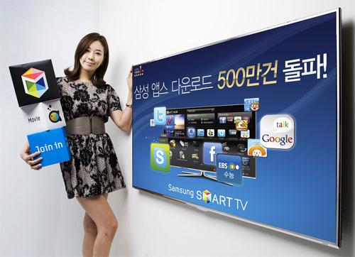 Samsung App Store Pass 5 Million Downloads for TV Sets
