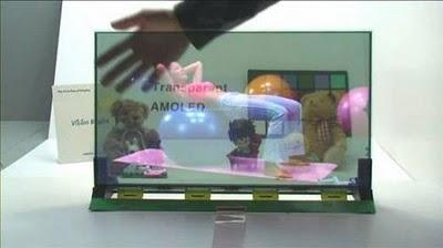 Samsung Unveils 22-inch Transparent BLU LCD TV