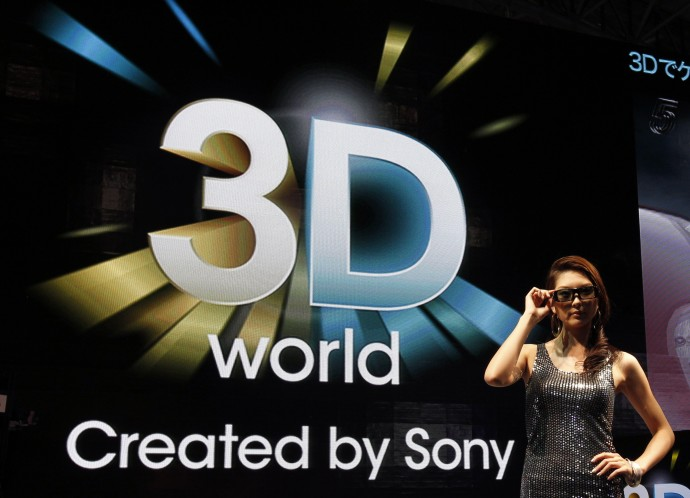 Sony Also Wants Piece of 3D Pie