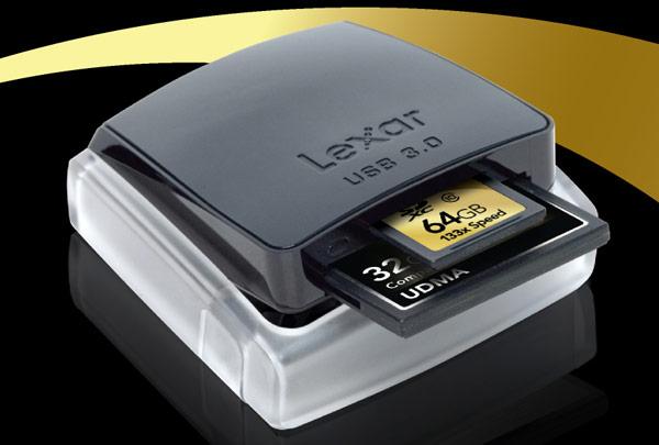 Lexar Dual-Slot CF / SD Reader Unveiled
