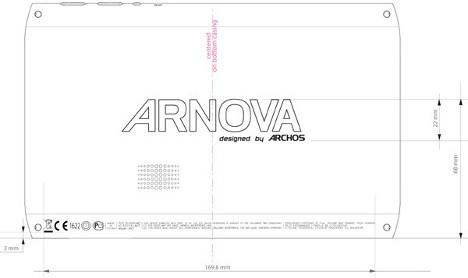Archos Arnova 7 Now at the FCC