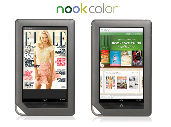 Nook Color - very user-friendly very cheap runs Android