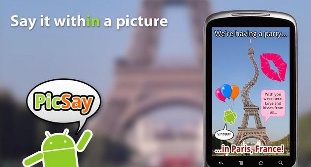 PicSay Photo Editor Android