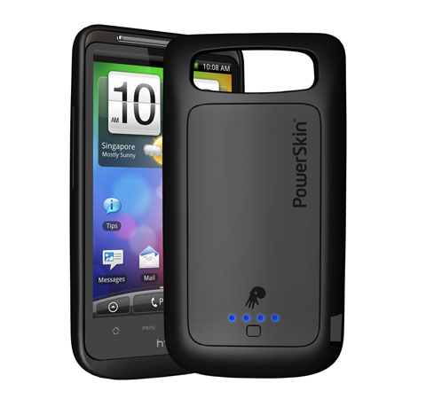 PowerSkin Battery Case Now Availble for HTC Inspire 4G and Desire HD