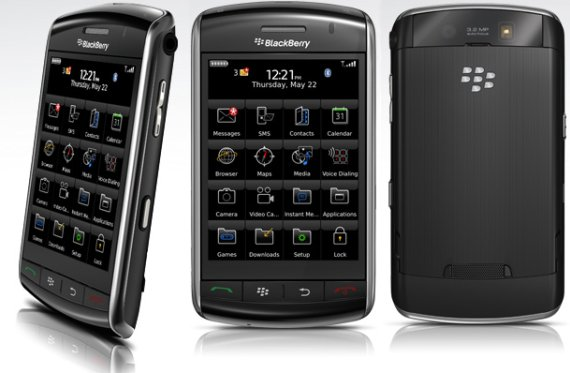 RIM's Blackberry line of phones