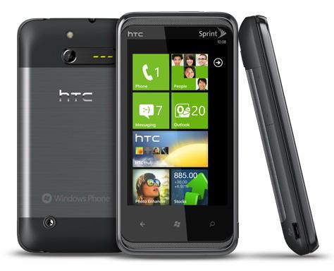 HTC Eternity Windows Phone