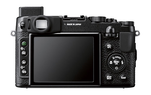 Fujifilm X10 lcd specs review