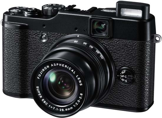 Fujifilm X10 specs review
