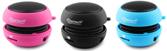 Naztech N15 portable mini speakers