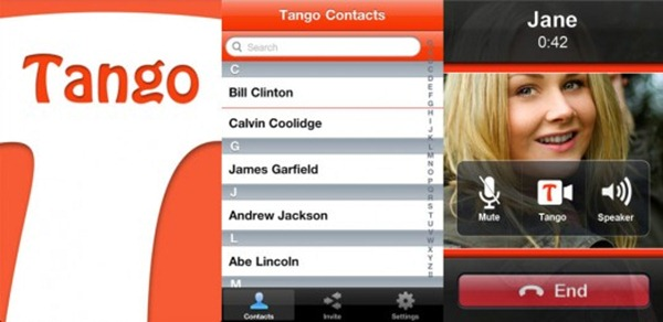 Tango Android Video Chat App