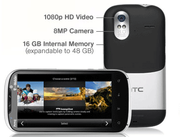 HTC Amaze 4G hardware specs review