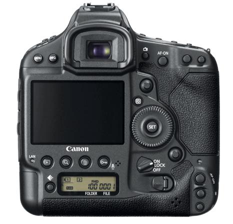 Canon EOS 1D X back