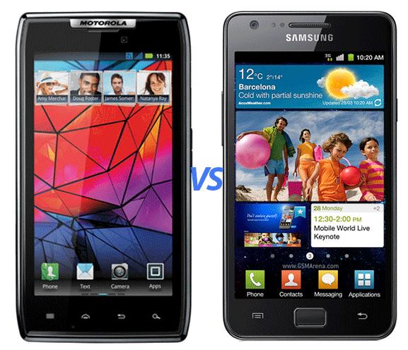 Droid RAZR vs Galaxy S2 - gadget review