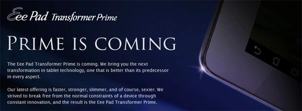 Transformer Prime