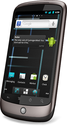 nexus one cyanogenmod