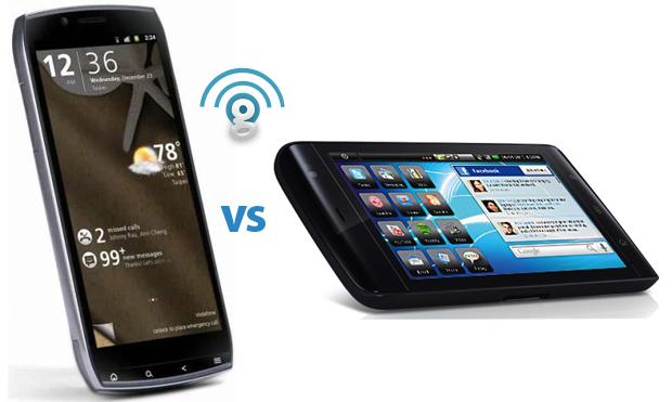 Dell Streak 5 vs Acer Iconia Smart