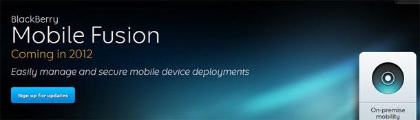RIM Mobile Fusion