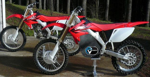 e-Moto-CRF250R bikes