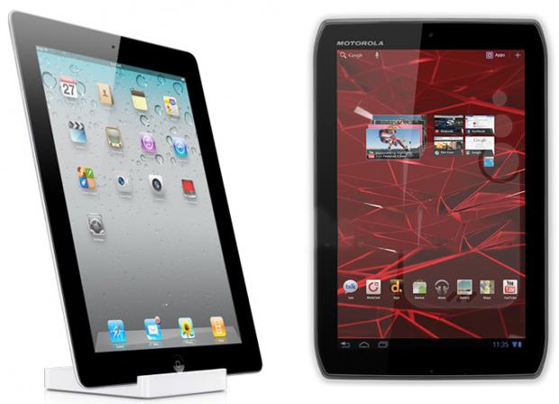 iPad 2 vs Xyboard 10.1