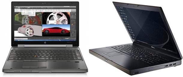 Dell Precision M4600 vs HP Elitebook 8560w