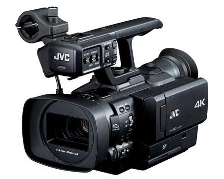 JVC-4K-handheld-camcorder
