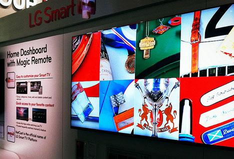 LG Smart TV CES 2012