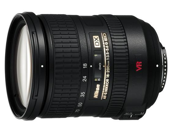 Nikkor AF-S DX VR 18-200mm