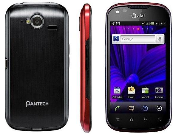 Pantech Burst smartphone