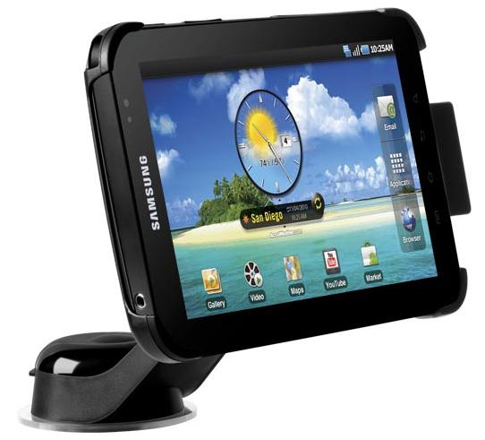 Samsung Galaxy Tab in-car navigation
