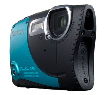 Canon PowerShot D20  rugged camera
