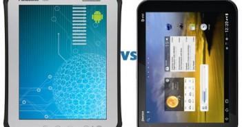 Panasonic ToughPad A1 vs Pantech Element tablet