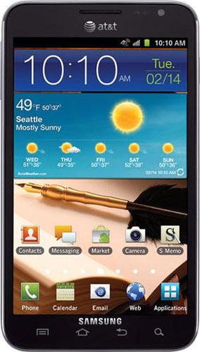 Samsung Galaxy Note Att Release