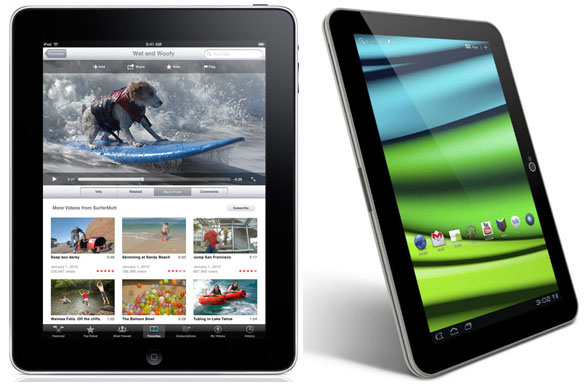 Toshiba Excite X10 vs Apple iPad 2