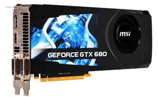 MSI GeForce GTX 680