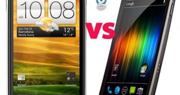 HTC One X vs Samsung Galaxy Nexus