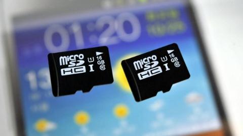 Samsung 16GB UHS-1 microSD