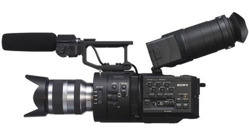 Sony-NEX-FS700-camcoder